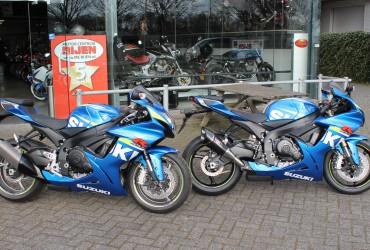 Unieke Suzuki GSX-R600 in MotoGP kleur