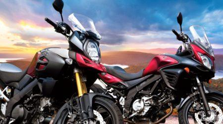 Ga op avontuur met de Suzuki V-Strom!