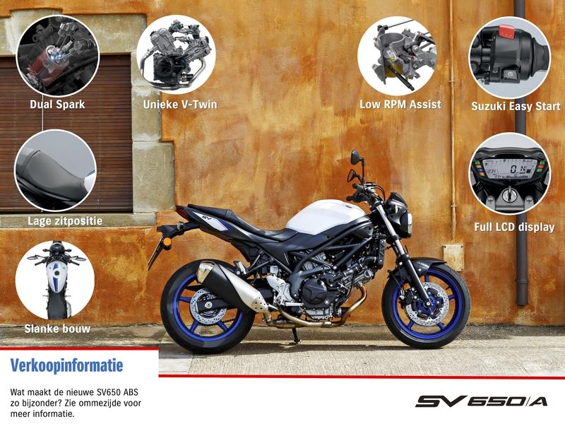 Verkoopinformatie Suzuki SV650A