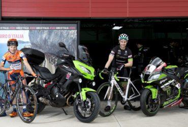 Kawasaki hofleverancier Giro d'Italia