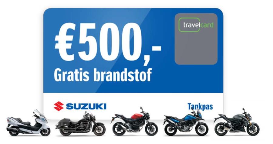 500 euro gratis brandstof!