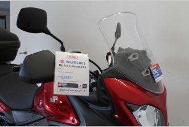 SUZUKI V-STROM 650 met Actiepakket