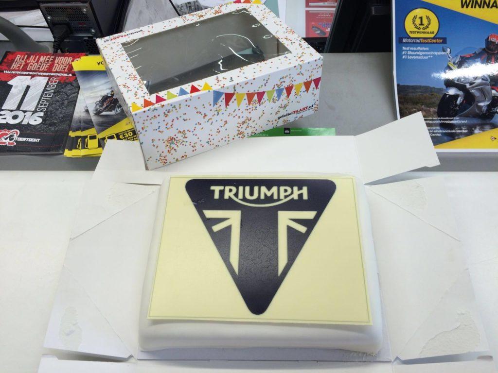 Triumph Taart