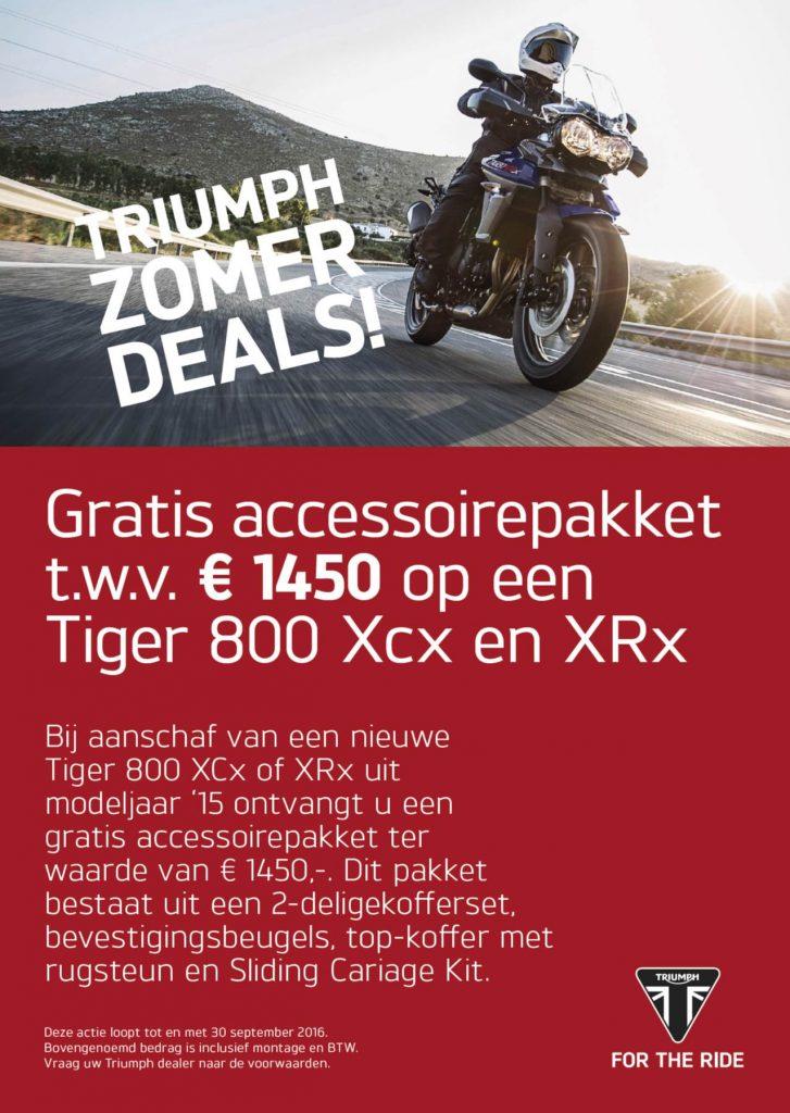 Tiger 800 promotie