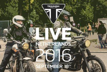 Triumph viert feest! – Triumph Live Netherlands 2016