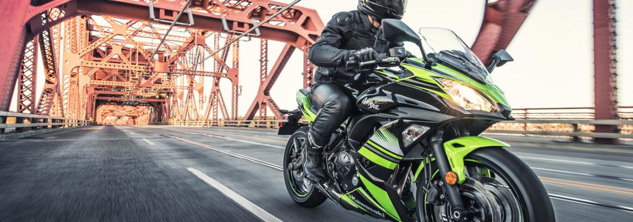 Kawasaki Ninja 650 Action