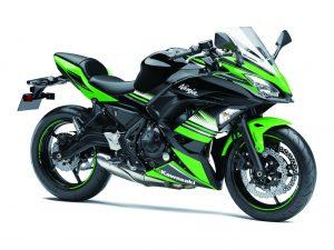 Kawasaki Ninja 650 Green
