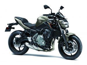 Kawasaki Z650 Titanium
