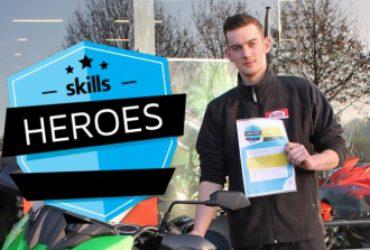Max winnaar van de Skill Heroes NL
