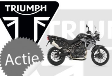 Gratis Expedition kofferset t.w.v. € 735,- bij een Triumph Tiger 800