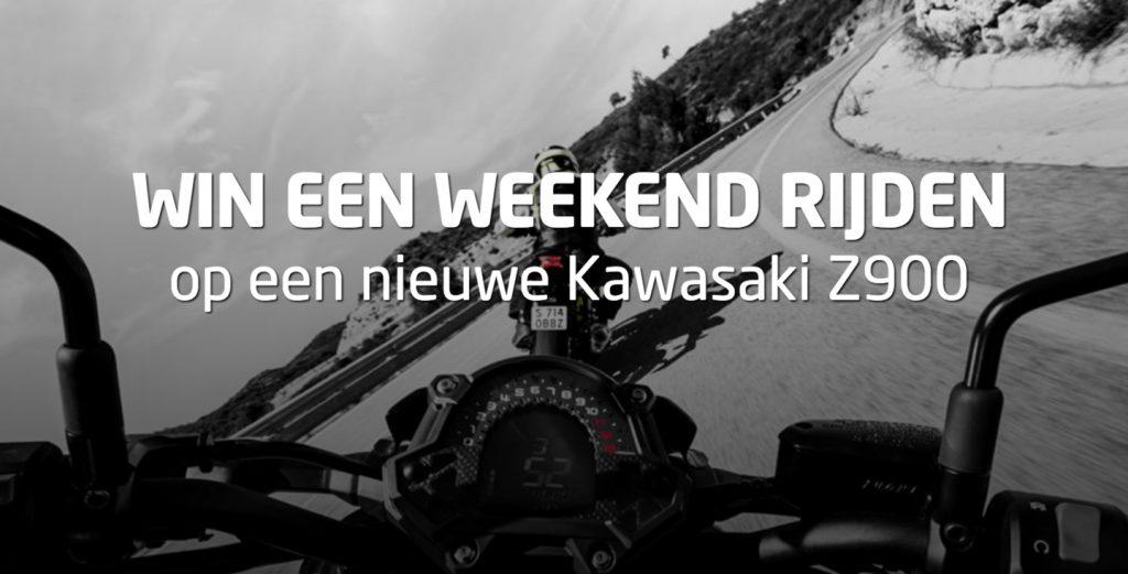Win een weekend rijden op een nieuwe Kawasaki Z900