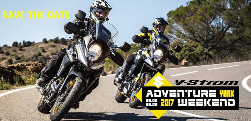 Suzuki V-Strom Adventure Trip UK