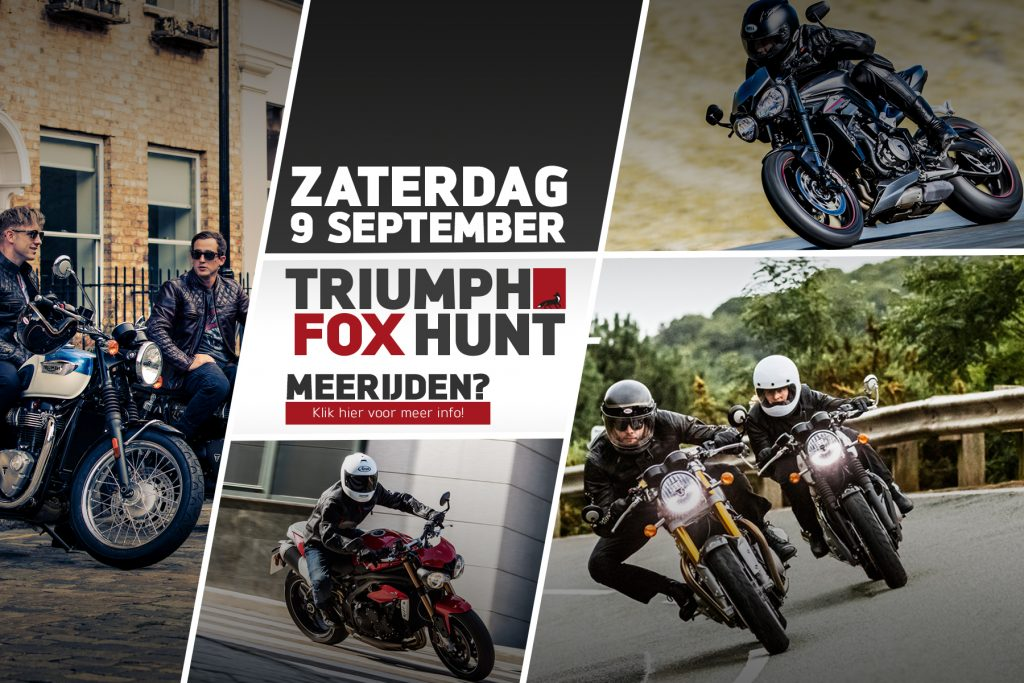 Doe mee met de Triumph Fox Hunt!