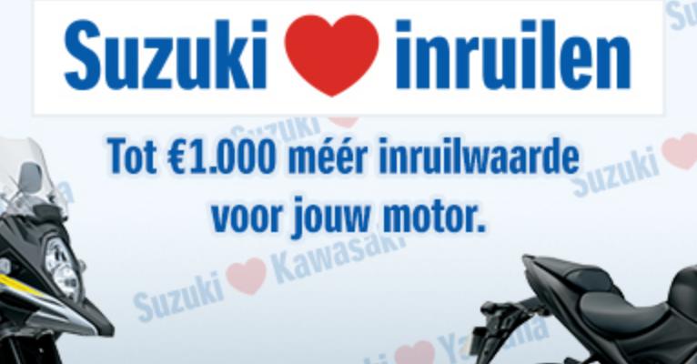 Suzuki inruilen