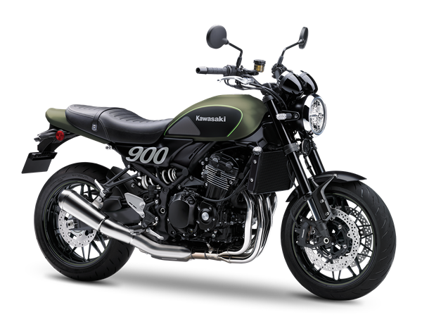 KAWASAKI Z900RS Metallic Matte Covert Green