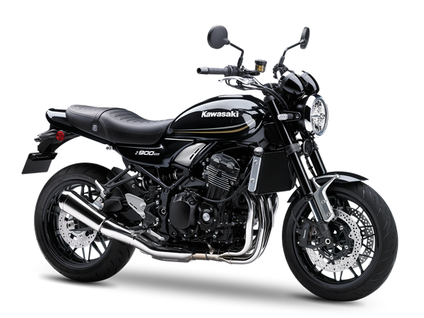 KAWASAKI Z900RS Metallic Spark Black
