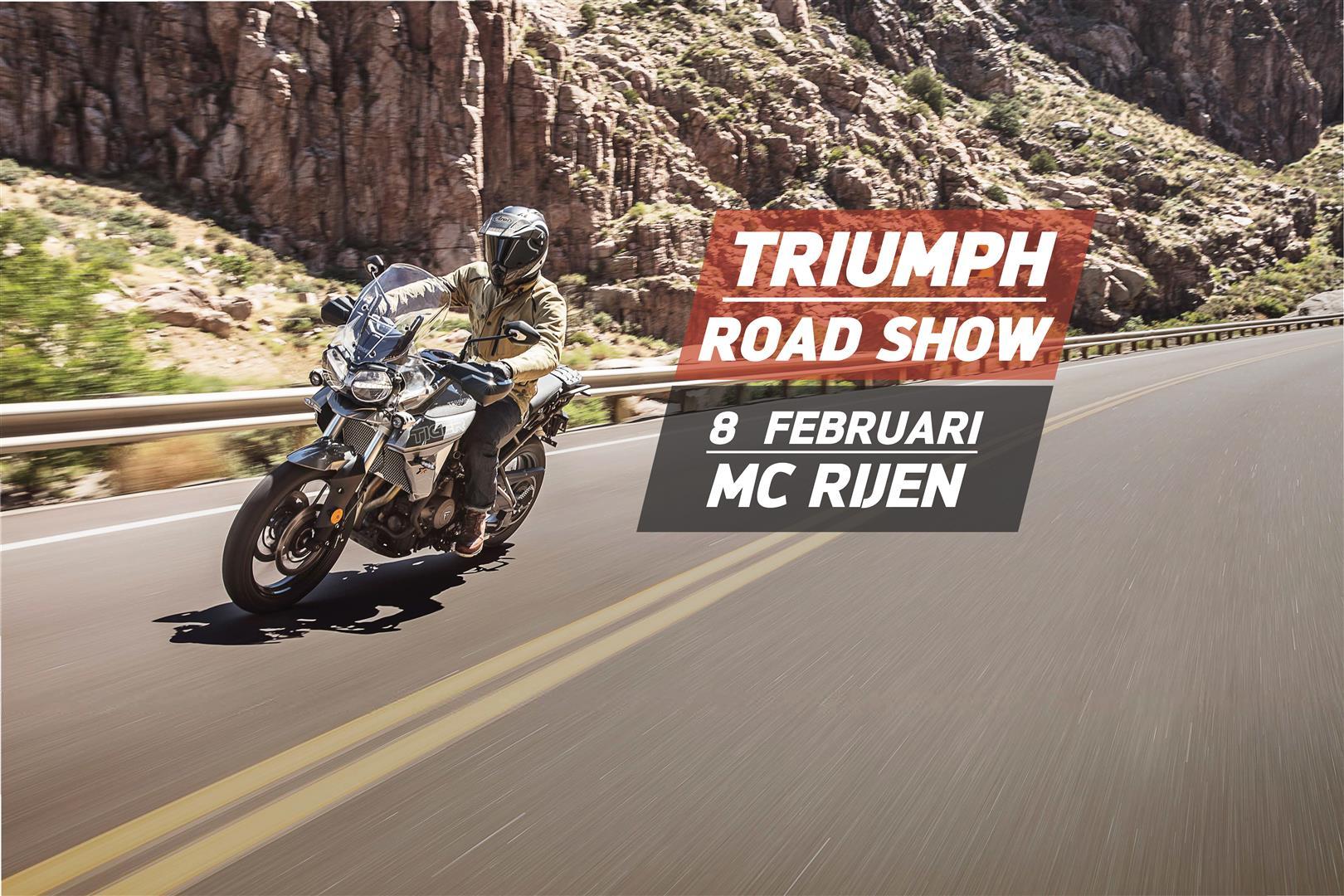 Mc Rijen Triumph Road Show