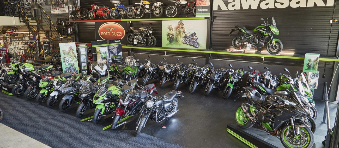 Kawasaki Mcrijen showroom