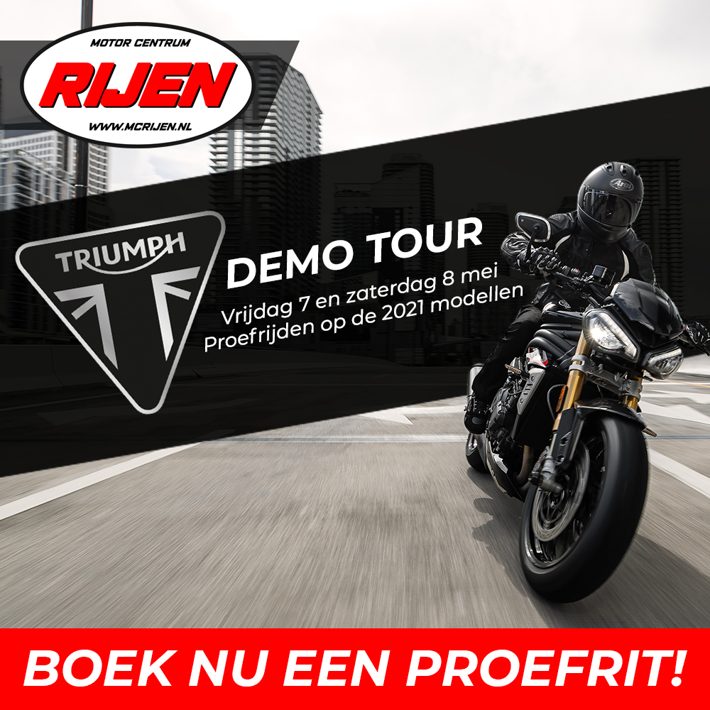 TRIUMPH DEMO TOUR MCRijen