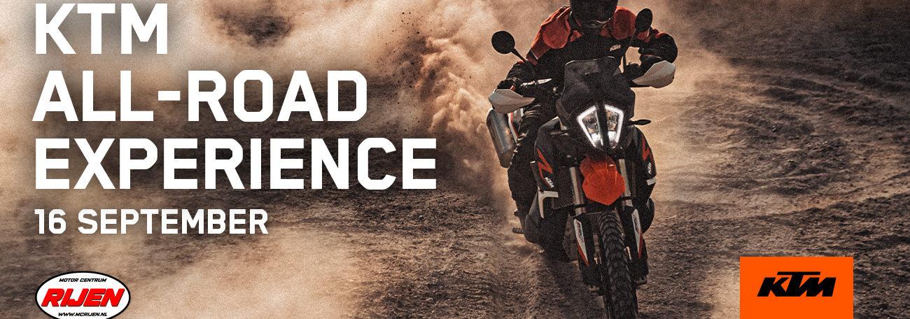 MC Rijen KTM All-Road Experience - 16 september