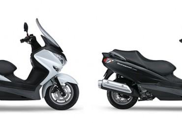 NIEUW Suzuki Burgman AN200A en AN125A