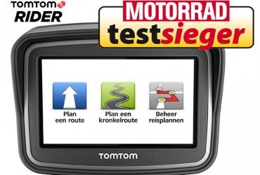 TomTom RIDER als absolute TESTWINNAAR!